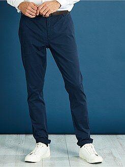 Homme du S au XXL Pantalon chino skinny