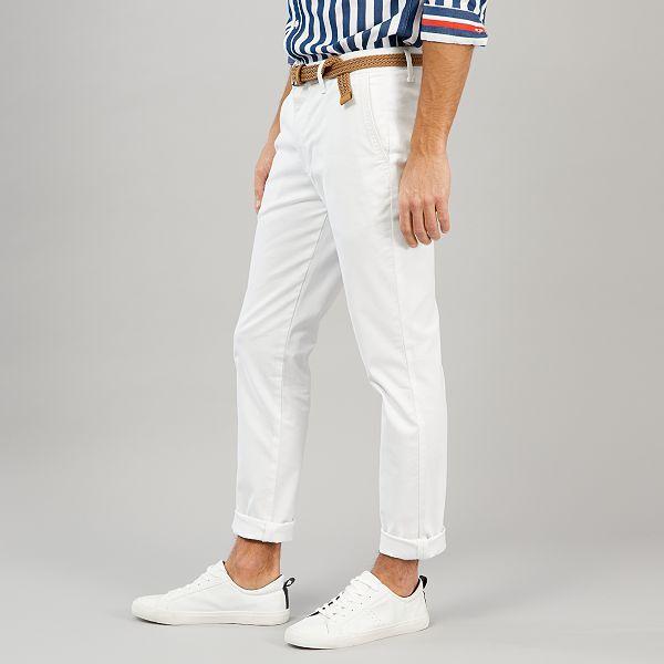 pantalon blanc homme guadeloupe