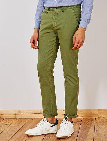 big sale 37c72 4644a pantalon-chino-slim-delavage-leger-vert-homme-wl938 2 fr1.jpg