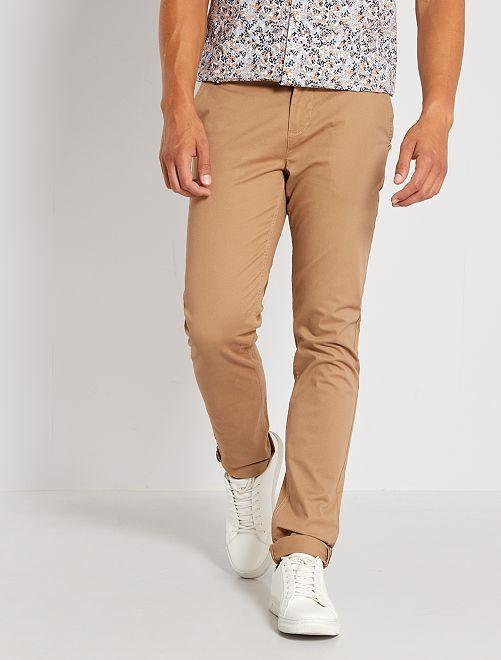 Pantalon chino slim L30                                                                             beige
