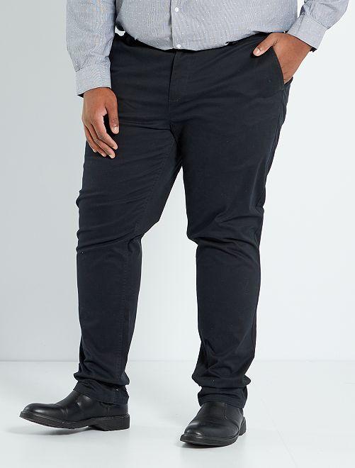 Pantalon chino slim L34                                                                                                                 noir