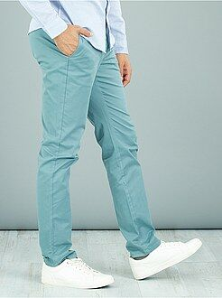 Homme du S au XXL Pantalon chino slim twill stretch