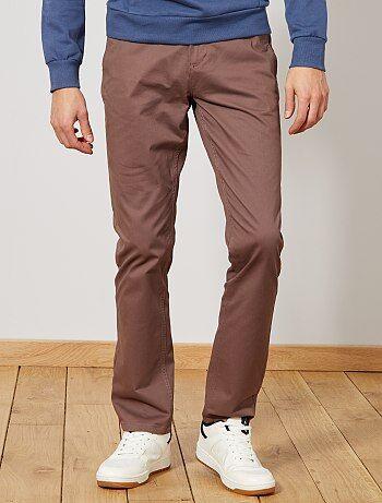 Kiabi Soldes Vêtements Slim Pantalon Homme nwI6PO4v