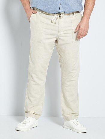 pantalon grande taille homme pas cher