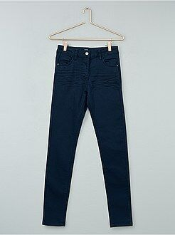 Pantalon - Pantalon couleur skinny en twill