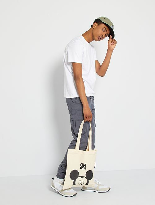 Pantalon coupe jogger                                                                 gris