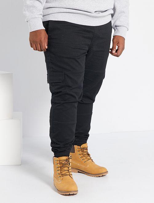 Pantalon coupe jogger                             noir
