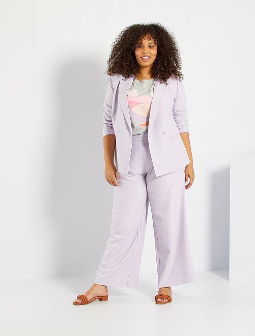 Pantalon culotte                                                     lilas