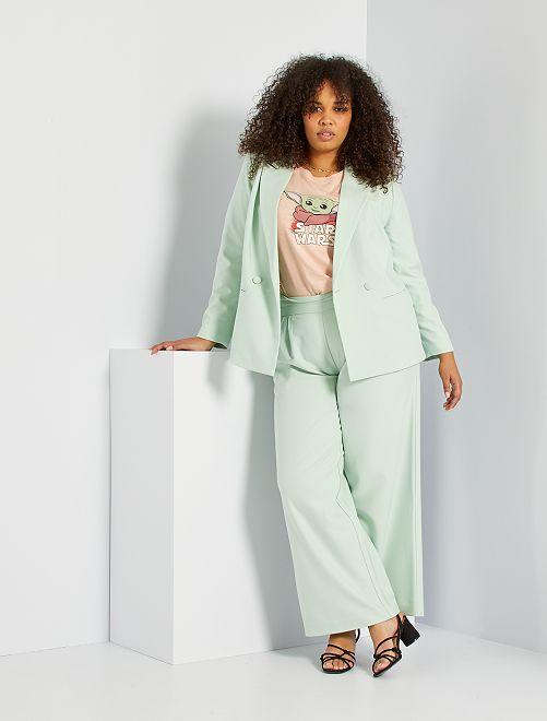 Pantalon culotte                                                     vert