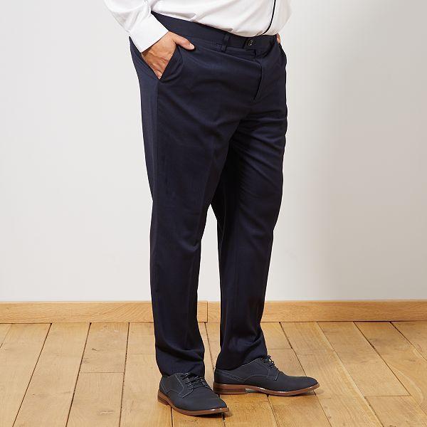 pantalon homme grande taille kiabi