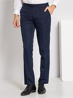 Costume - Pantalon de costume regular en twill