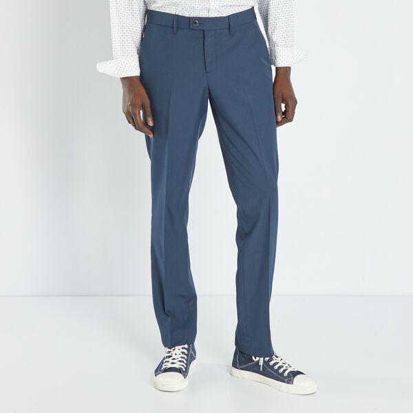 pantalon homme bleu marine