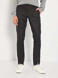 Costume - Pantalon de costume slim en twill - Kiabi