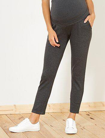 Pantalon de grossesse en maille - Kiabi
