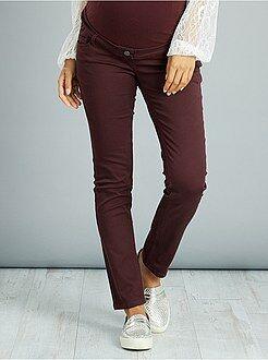 Pantalon de grossesse slim stretch