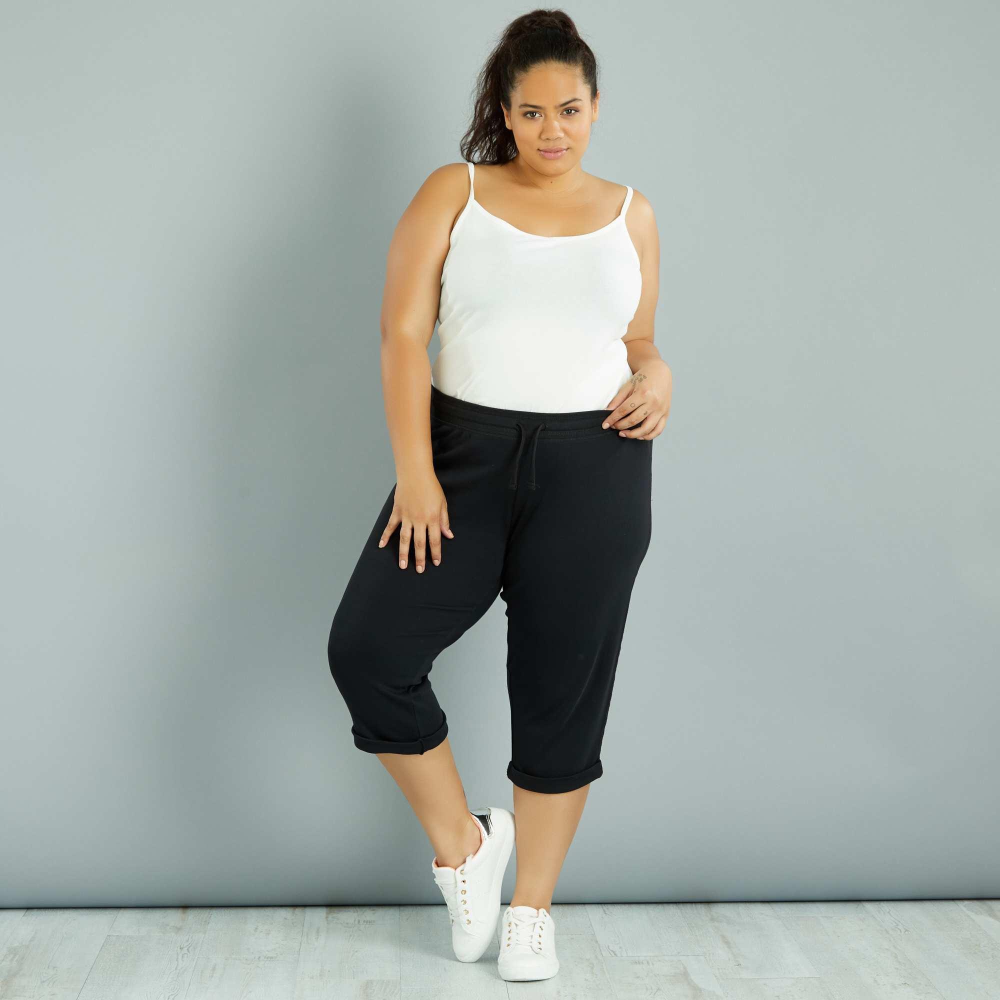 Couleur : noir, , ,, - Taille : 58/60, , ,,Pour les séances de sport, misez sur ce pantalon ultra-confortable ! - Pantalon de