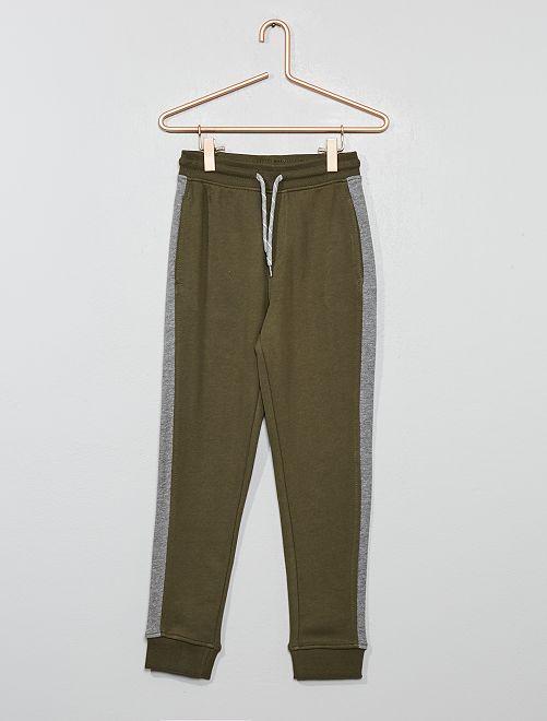 Pantalon de jogging à bande                                                     kaki Garçon
