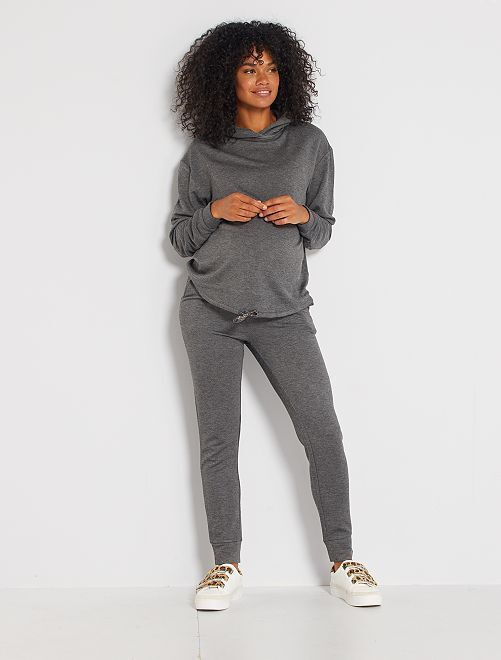 Pantalon de jogging de maternité                             gris foncé