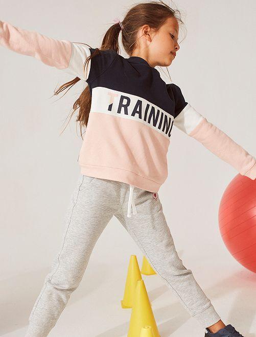 Pantalon de jogging éco-conçu                                             gris chiné