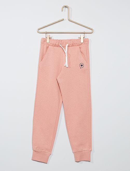 Pantalon de jogging éco-conçu                                                                 rose