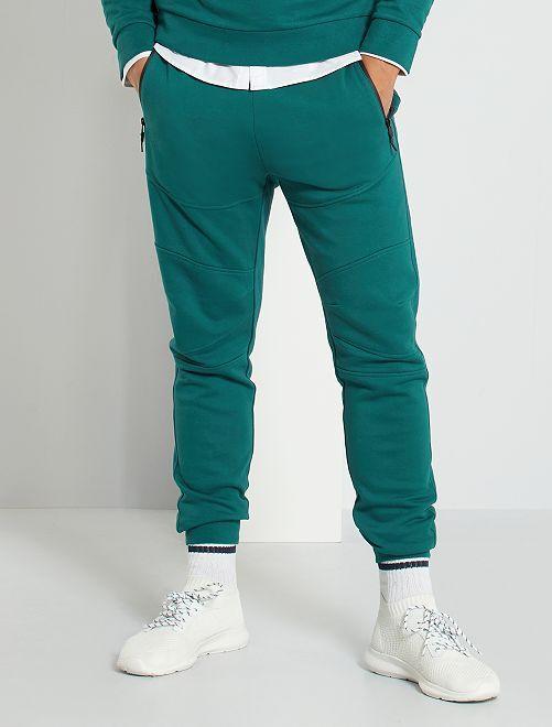 Pantalon de jogging éco-conçu                                                     vert profond