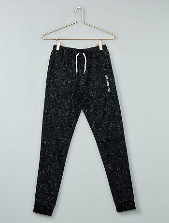 Product Couleur : gris chiné, anthracite chiné, bordeaux,, - Taille : S, 12A, 10A,M,XSHabillement Fille / Fille 10-18 ans / Pantalon / Pantalon  Un pantalon de jogging parfait pour les séances de sport ou pour se sentir bien,  KIABI