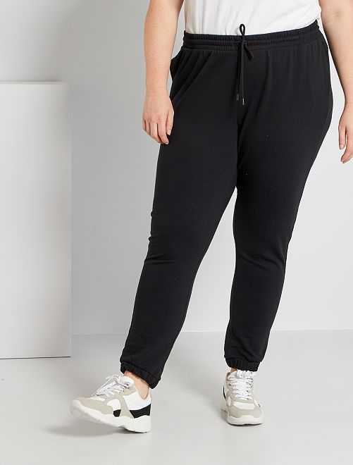 Pantalon de jogging en molleton                                                                             noir