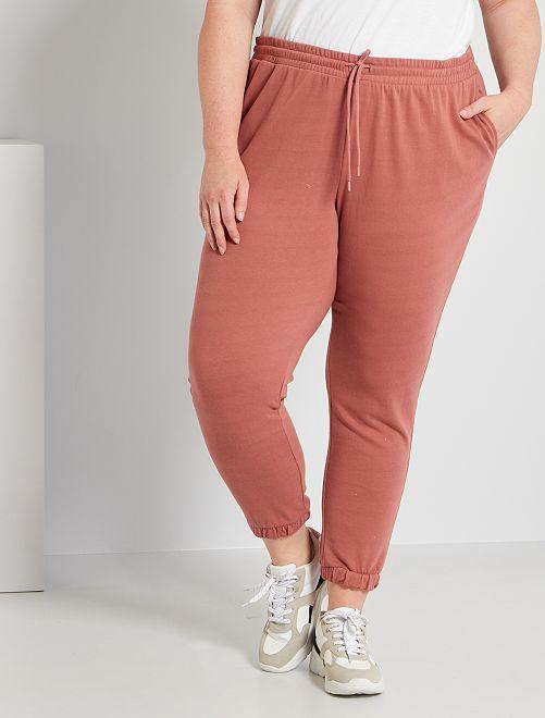 Pantalon de jogging en molleton                                                                             rose blush