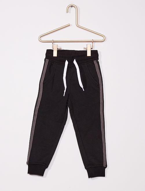 Pantalon de jogging enfant fin                                 noir