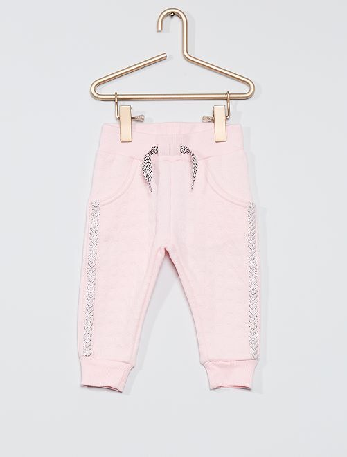 Pantalon de jogging fantaisie                             rose