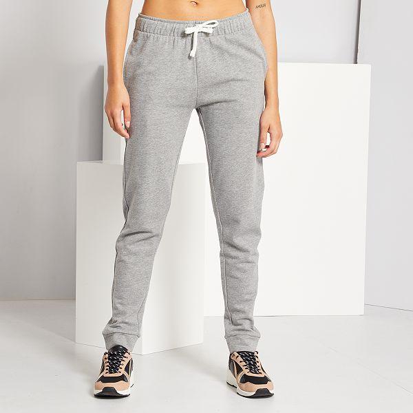 Pantalon De Jogging Femme Gris Kiabi 8 00