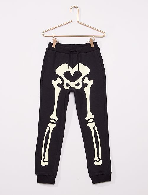 Pantalon de jogging 'Halloween'                                 noir