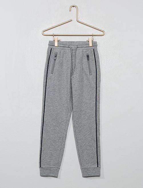 Pantalon de jogging imprimé                                         gris clair
