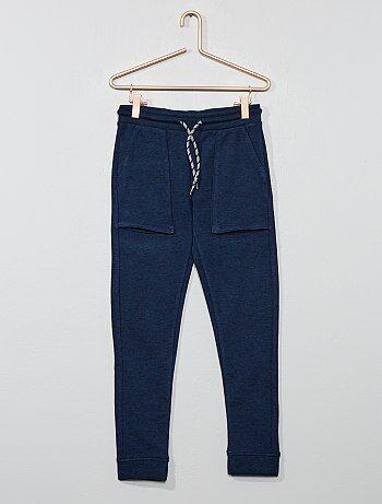 a50c4e42fe3c0 Garçon 3-12 ans - Pantalon de jogging larges poches - Kiabi