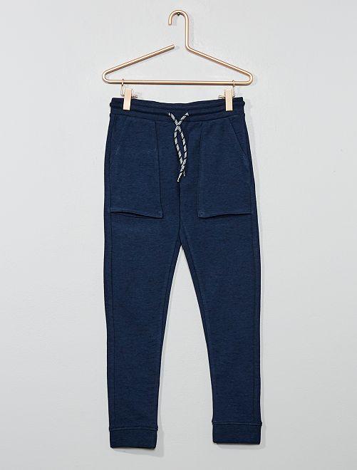 Pantalon de jogging larges poches                                                                 bleu marine Garçon