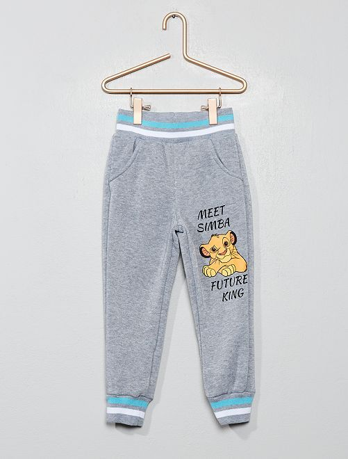 Pantalon de jogging 'Le Roi Lion'                                         gris Garçon