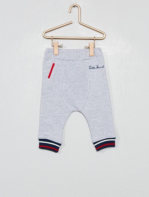 Pantalon de jogging 'Little Marcel'                                         gris chiné