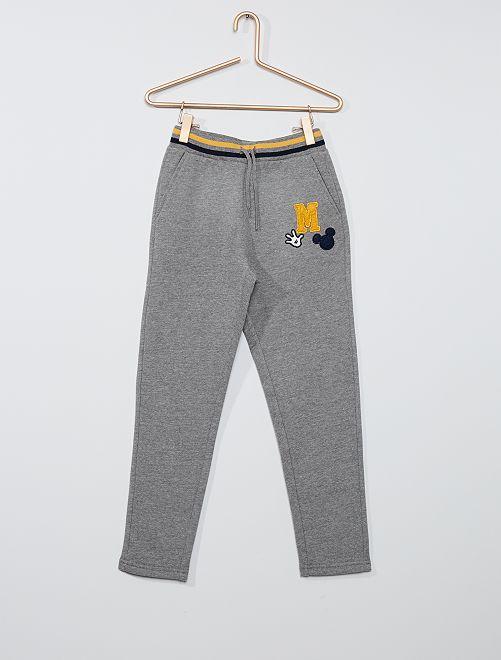 Pantalon de jogging 'Mickey'                             gris
