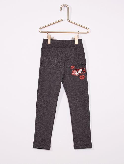 Pantalon de jogging 'Minnie'                                         gris