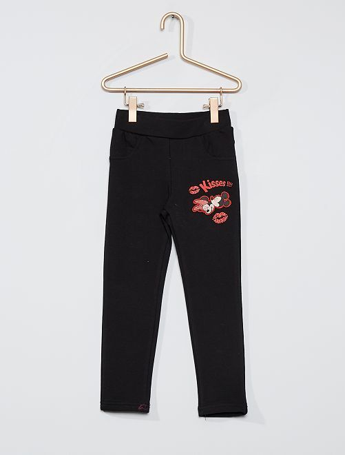Pantalon de jogging 'Minnie'                                         noir