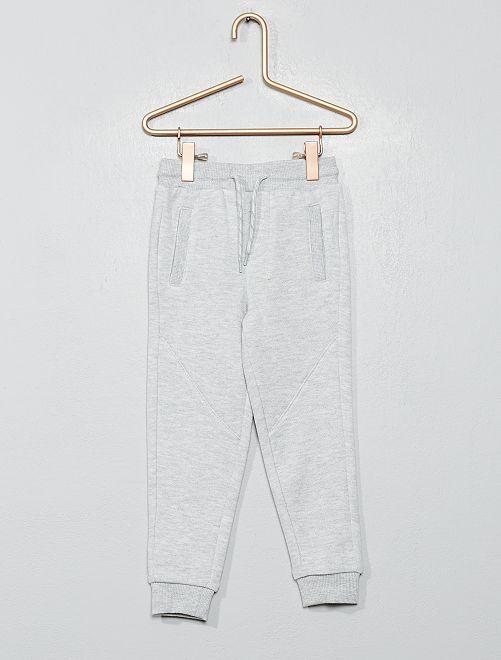 Pantalon de jogging molleton                     gris
