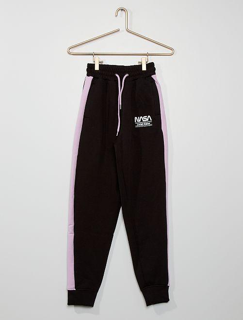 Pantalon de jogging 'NASA'                             noir