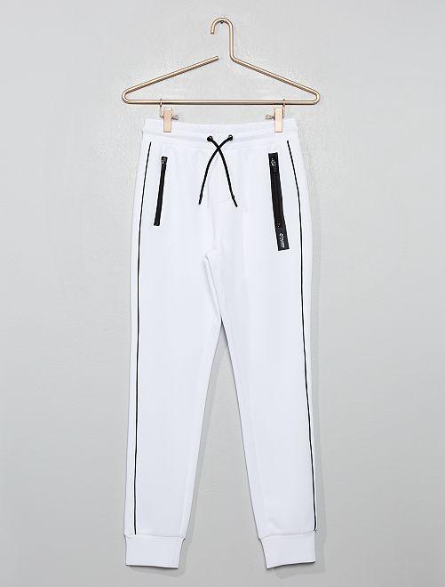Pantalon de jogging néoprène                                         blanc