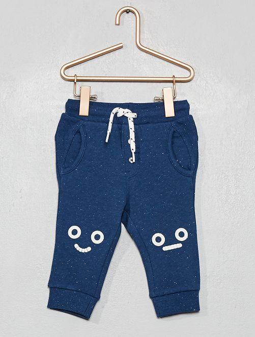 Pantalon de jogging 'robot'                                                     bleu