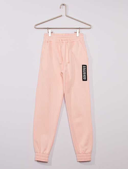 Pantalon de jogging                                         rose
