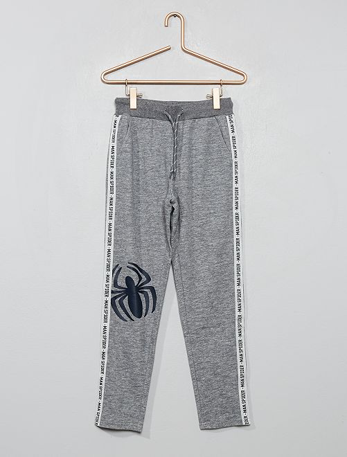 Pantalon de jogging 'Spider-man'                             gris chiné