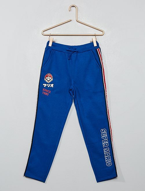 Pantalon de jogging 'Super Mario' Nintendo                             bleu