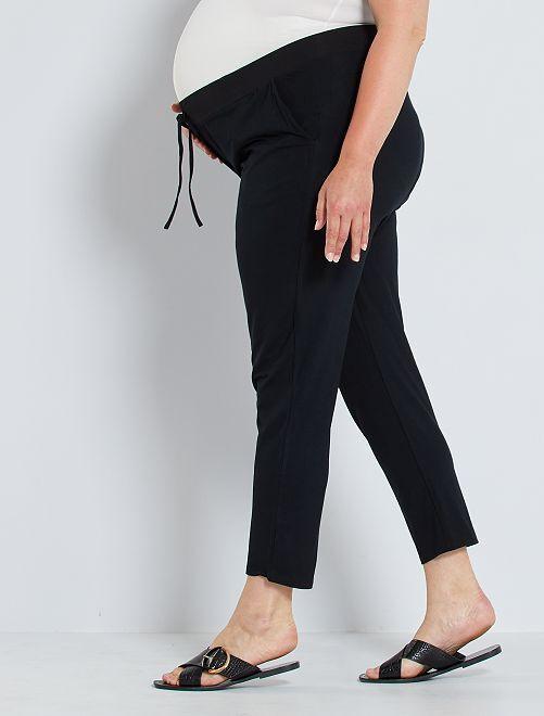 Pantalon de maternité en maille                                         noir