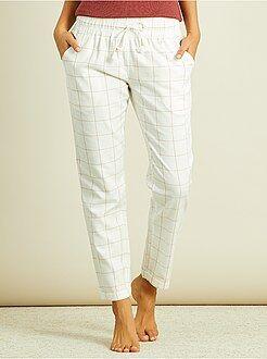 Pantalon de pyjama en flanelle
