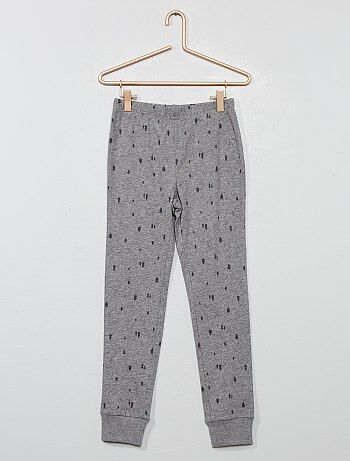 359ad27c537ec Garçon 3-12 ans - Pantalon de pyjama en jersey - Kiabi